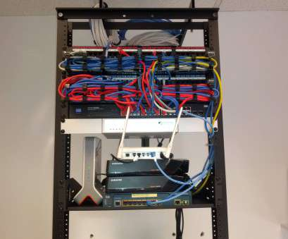 electrical wire rack system Patch Panels & Network Equipment in a Rack, Security Alarm|CCTV Electrical Wire Rack System Brilliant Patch Panels & Network Equipment In A Rack, Security Alarm|CCTV Galleries