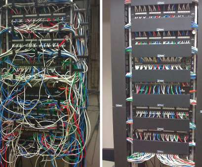 electrical wire rack system Rack Cleanup Before, After : cableporn Electrical Wire Rack System New Rack Cleanup Before, After : Cableporn Pictures