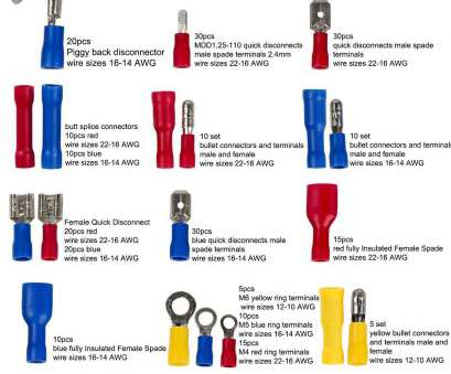 electrical wire size 10 Amazon.com: 271pcs wire terminals crimp connectors,19 types insulated electrical cable Spade Set,color, Yellow, 12 types 22-10, US, EU standard Electrical Wire Size 10 Fantastic Amazon.Com: 271Pcs Wire Terminals Crimp Connectors,19 Types Insulated Electrical Cable Spade Set,Color, Yellow, 12 Types 22-10, US, EU Standard Images