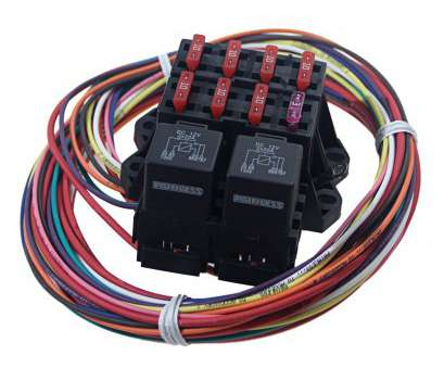 electrical wire size for 40 amps 7 Circuit Auxiliary Fuse Block 7 Ignition-Hot Circuits. Uses, 40, Relays Electrical Wire Size, 40 Amps Nice 7 Circuit Auxiliary Fuse Block 7 Ignition-Hot Circuits. Uses, 40, Relays Collections