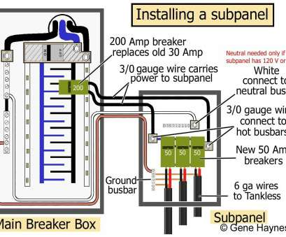 electrical wire size for 50 amp breaker 100, Sub Panel Wiring Diagram Unique Generous Breaker Wire Size Electrical Wire Size, 50, Breaker Practical 100, Sub Panel Wiring Diagram Unique Generous Breaker Wire Size Images