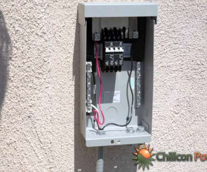 electrical wire size for air conditioner Part 9: AC Disconnect, Breaker Box Electrical Wire Size, Air Conditioner Best Part 9: AC Disconnect, Breaker Box Collections