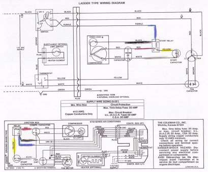 Electrical Wire Size, Air Conditioner Popular Rv, Conditioner Wiring Diagram, Coleman Rv, Conditioner Wiring Diagram Unique Excellent Coleman 2 Galleries