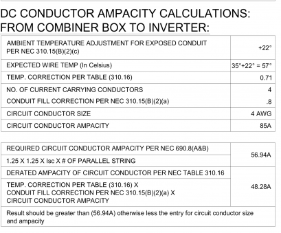 electrical wire size and ampacity dc conductor ampacity calculations help northernarizona windandsun rh forum solar electric, Wire Ampacity Table 310.16, Wire Size Electrical Wire Size, Ampacity Top Dc Conductor Ampacity Calculations Help Northernarizona Windandsun Rh Forum Solar Electric, Wire Ampacity Table 310.16, Wire Size Images