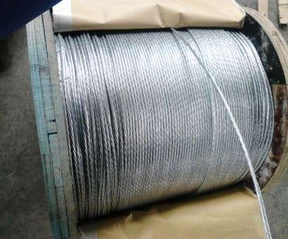 electrical wire size in mm Overhead Electrical Wire, Inch Zinc Coated Steel Wire Strand With 1-4.8mm Single Wire Size Electrical Wire Size In Mm Practical Overhead Electrical Wire, Inch Zinc Coated Steel Wire Strand With 1-4.8Mm Single Wire Size Pictures