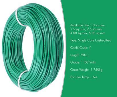 electrical wire size in mm Plaza Cables 0.75 sq mm Copper, Insulated Electrical Wire/Cable 1100V, Meter (Best, Home use): Amazon.in: Garden & Outdoors Electrical Wire Size In Mm Simple Plaza Cables 0.75 Sq Mm Copper, Insulated Electrical Wire/Cable 1100V, Meter (Best, Home Use): Amazon.In: Garden & Outdoors Solutions