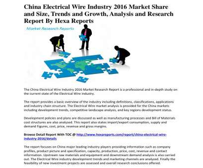 electrical wire size and price China electrical wire industry 2016 market share, size, trends, growth, analysis, research by Richard Kavin, issuu Electrical Wire Size, Price Simple China Electrical Wire Industry 2016 Market Share, Size, Trends, Growth, Analysis, Research By Richard Kavin, Issuu Collections