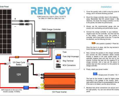 electrical wire size vs distance renogy setup guide in wiring diagram, solar power system wiring diagram, computer power supply Electrical Wire Size Vs Distance Popular Renogy Setup Guide In Wiring Diagram, Solar Power System Wiring Diagram, Computer Power Supply Solutions