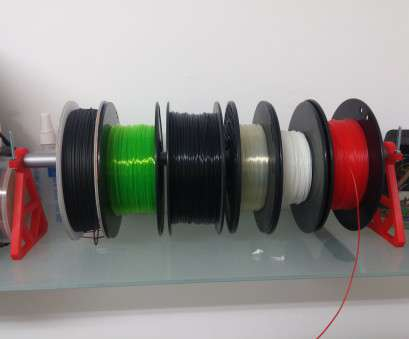 electrical wire spool rack Broomstick Filament Spool Rack. by harari, 18, 2015 View Original Electrical Wire Spool Rack Practical Broomstick Filament Spool Rack. By Harari, 18, 2015 View Original Images