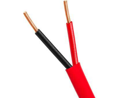 electrical wire with red Fire Alarm 14/2 Bare Copper 14AWG 2 Conductor Unshielded Cable, 1000 Feet Red Electrical Wire With Red Creative Fire Alarm 14/2 Bare Copper 14AWG 2 Conductor Unshielded Cable, 1000 Feet Red Solutions