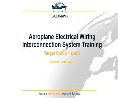 electrical wiring classes Electrical Wiring Interconnection System (EWIS), Target Group 1, 2, continuation training, language: English Electrical Wiring Classes Creative Electrical Wiring Interconnection System (EWIS), Target Group 1, 2, Continuation Training, Language: English Images