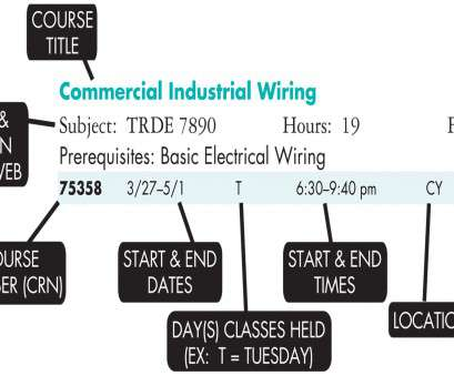 electrical wiring classes How to Read, Continuing Education Schedule legend Electrical Wiring Classes Nice How To Read, Continuing Education Schedule Legend Ideas
