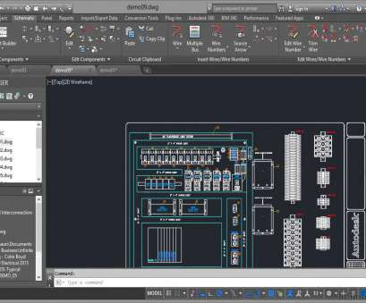 electrical wiring diagram in autocad AutoCAD Electrical 2015 Tutorial, Panel Drawings Electrical Wiring Diagram In Autocad Most AutoCAD Electrical 2015 Tutorial, Panel Drawings Ideas