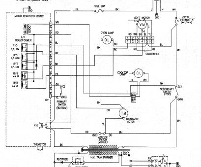 11 Simple Electrical Wiring Diagram Of Microwave Oven Ideas ... on