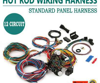 electrical wiring harness Amazon.com: Mophorn Wiring Harness, 12 Circuit, Rod Universal Wiring Harness Muscle, Street, XL Wires: Automotive Electrical Wiring Harness Top Amazon.Com: Mophorn Wiring Harness, 12 Circuit, Rod Universal Wiring Harness Muscle, Street, XL Wires: Automotive Ideas