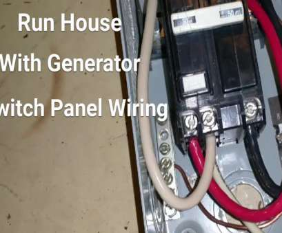 electrical wiring home generator hook up How To Hook Up A Generator To Your House, Pt 2 Switch, Wiring Electrical Wiring Home Generator Hook Up Popular How To Hook Up A Generator To Your House, Pt 2 Switch, Wiring Photos