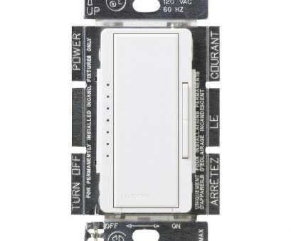 electrical wiring home low voltage switches Lutron Maestro 600-Watt Multi-Location Electronic Low-Voltage Digital Dimmer, White Electrical Wiring Home, Voltage Switches Practical Lutron Maestro 600-Watt Multi-Location Electronic Low-Voltage Digital Dimmer, White Photos