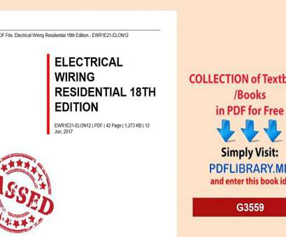 electrical wiring residential 18th edition pdf Electrical Wiring Residential 18th Edition Electrical Wiring Residential 18Th Edition Pdf Creative Electrical Wiring Residential 18Th Edition Photos