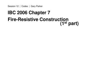 electrical wiring residential chapter 7 PPT -, 2006 Chapter 7 Fire-Resistive Construction (1 st part) PowerPoint Presentation, ID:4496117 Electrical Wiring Residential Chapter 7 Perfect PPT -, 2006 Chapter 7 Fire-Resistive Construction (1 St Part) PowerPoint Presentation, ID:4496117 Photos