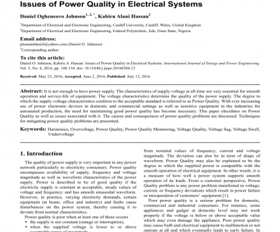 electrical wiring residential 7th edition prints (PDF) Issues of Power Quality in Electrical Systems Electrical Wiring Residential, Edition Prints Brilliant (PDF) Issues Of Power Quality In Electrical Systems Images
