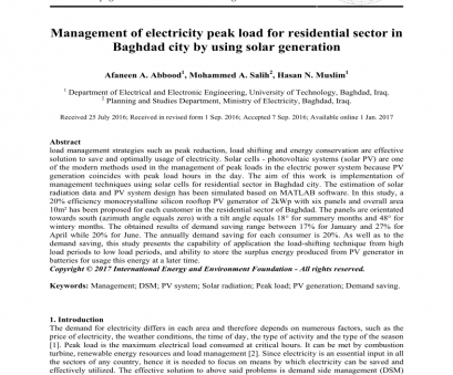 electrical wiring residential 7th edition prints (PDF) Management of electricity peak load, residential sector in Baghdad city by using solar generation Electrical Wiring Residential, Edition Prints Practical (PDF) Management Of Electricity Peak Load, Residential Sector In Baghdad City By Using Solar Generation Photos