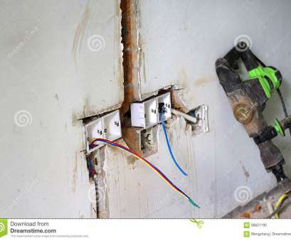 Electrical Wiring Residential Light Switch Perfect Download Electrical Renovation Work, Light Switch Stock Photo, Image Of Home, Conduit: Pictures