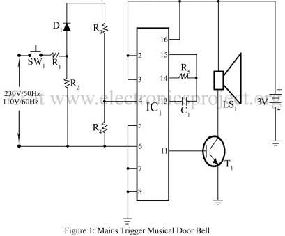 electronic doorbell wiring diagram Wireless Controlled Door Bell, Electronics Project Of Valid Wiring Diagram Doorbell Electronic Doorbell Wiring Diagram Popular Wireless Controlled Door Bell, Electronics Project Of Valid Wiring Diagram Doorbell Ideas