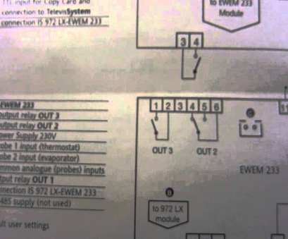 eliwell thermostat wiring diagram eliwell connection 17 New Eliwell Thermostat Wiring Diagram Images