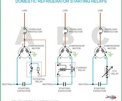 eliwell thermostat wiring diagram brilliant domestic refrigerator  starting relays, hermawan's blog (refrigeration, air