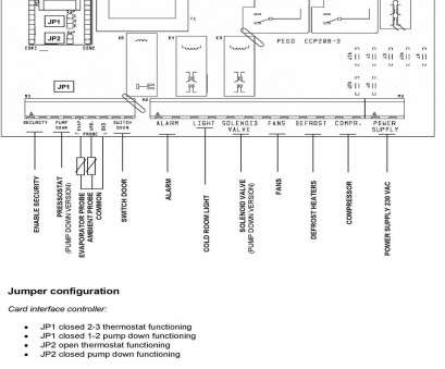 Eliwell Thermostat Wiring Diagram Perfect VRV Or, Electrical