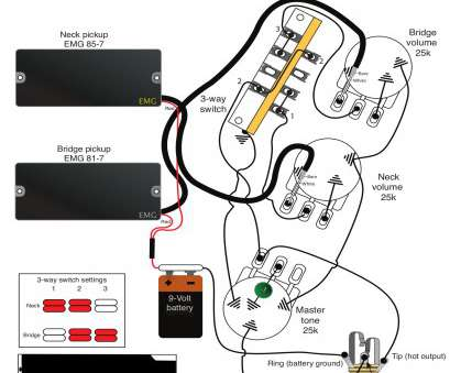 emg 3 way switch wiring Emg Wiring Diagram 81 85 1 Volume Tone Charming, Diagrams With Emg 3, Switch Wiring Popular Emg Wiring Diagram 81 85 1 Volume Tone Charming, Diagrams With Collections