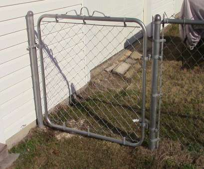 erecting wire mesh fence 72 Installing a chain Link fence gate 11 New Erecting Wire Mesh Fence Ideas