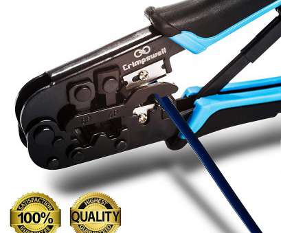 ethernet cable wiring crimping tool Ethernet Crimping Tool RJ45, RJ12, RJ11 Crimper, Cutter, Stripper & Bonus Infographics -, To Crimp,, and Strip Networking Cat5, Cat6 Cables by Ethernet Cable Wiring Crimping Tool Practical Ethernet Crimping Tool RJ45, RJ12, RJ11 Crimper, Cutter, Stripper & Bonus Infographics -, To Crimp,, And Strip Networking Cat5, Cat6 Cables By Solutions