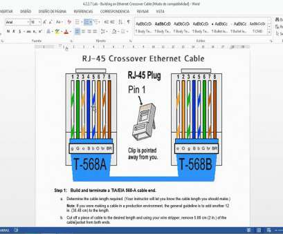 ethernet wiring diagram 568b Cat5 Cable Wiring Diagram, Wiring systems, methods Ethernet Wiring Diagram 568B Cleaver Cat5 Cable Wiring Diagram, Wiring Systems, Methods Photos