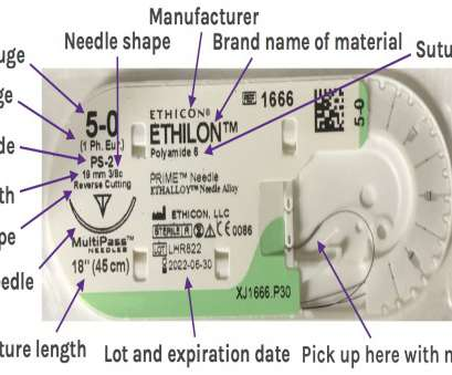 ethicon 18 gauge wire Suture Materials, Core EM Ethicon 18 Gauge Wire Practical Suture Materials, Core EM Collections