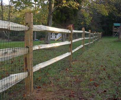 fence with wire mesh Vinyl Split Rail Fence With Wire Mesh, Fences Ideas 14 Simple Fence With Wire Mesh Photos