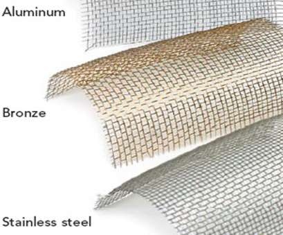 flexible wire mesh screen How to Choose an Insect Screen, Fine Homebuilding Flexible Wire Mesh Screen Most How To Choose An Insect Screen, Fine Homebuilding Photos