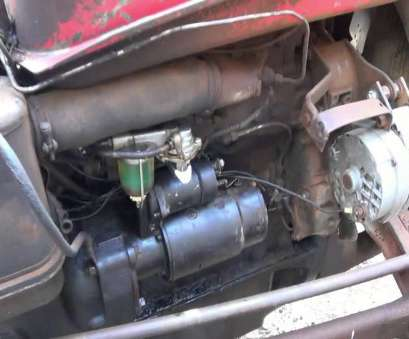 ford 3930 starter wiring diagram How to Wire up a single wire alternator, Tractors Ford 3930 Starter Wiring Diagram Best How To Wire Up A Single Wire Alternator, Tractors Solutions