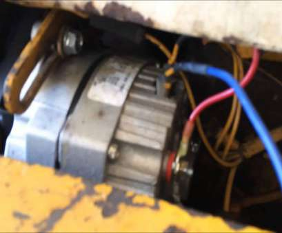 ford 555 backhoe starter wiring diagram Alternator wiring