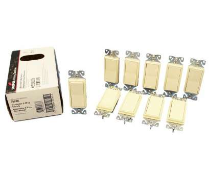 göldo 3 way switch wiring Cooper Wiring 7503A Decorator Rocker Switch 3-Way, 120/277VAC, Almond, 10-Pack, Amazon.com Göldo 3, Switch Wiring Professional Cooper Wiring 7503A Decorator Rocker Switch 3-Way, 120/277VAC, Almond, 10-Pack, Amazon.Com Pictures