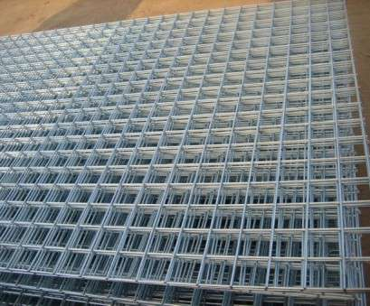 galv wire mesh panels 6 PACK OF 8ftx4ft Welded Mesh Panels 2
