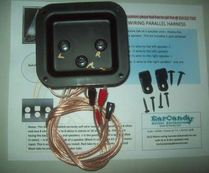 Gauge Speaker Wire Guitar Cabinet Fantastic 2X12 Stereo Mono Combo Wiring Harness 3 IN Solutions