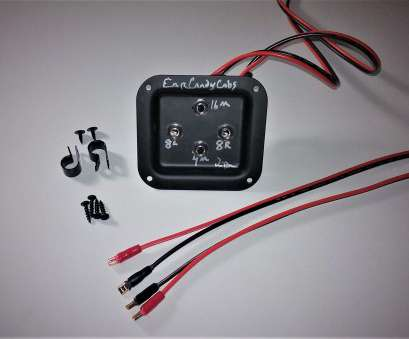 Gauge Speaker Wire Guitar Cabinet Cleaver 2X12 Stereo Mono Combo Wiring Harness 8L 8R 16, Mono