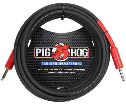 Gauge Speaker Wire Guitar Cabinet Nice Amazon.Com:, Hog PHSC25, 14 Gauge Speaker Cable, 25 Feet: Musical Instruments Collections