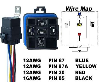 gauge wire 30 amp 12v dc Amazon.com: 1 PACK 40/30, Waterproof Relay, Harness, Heavy Duty 12, Wiring Harness -, DC 5-PIN SPDT Bosch Style Automotive Relay -, 14V DC: 16 Best Gauge Wire 30, 12V Dc Ideas
