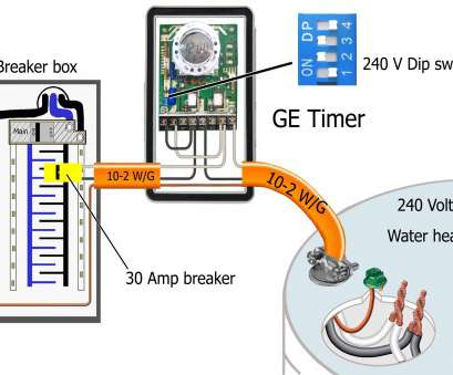 Gauge Wire 30, 240 Volts Fantastic Wiring Diagram Here Is An Example Of A Circuit That, Can Make With Electric Hot Solutions