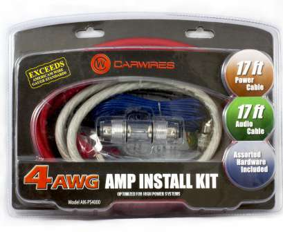 gauge wire with amp Carwires AIK-PS4000, 1000 Watt 4-AWG, Amplifier Install,, Walmart.com Gauge Wire With Amp Practical Carwires AIK-PS4000, 1000 Watt 4-AWG, Amplifier Install,, Walmart.Com Pictures