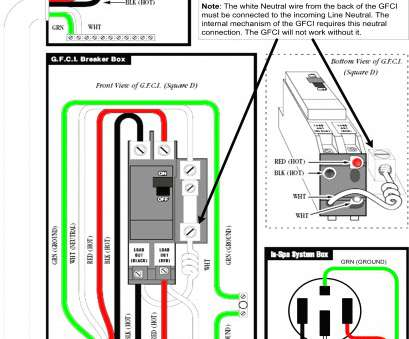 Gfci Breaker Wiring Diagram Top For A 50, Gfci Wiring Diagram Wiring Diagrams \U2022, Tubs, Volt Wiring 220V Gfci Breaker Wiring Solutions