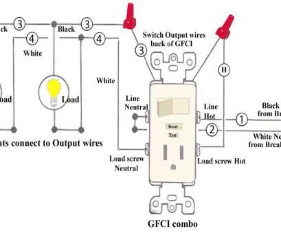 gfci to switch wiring diagram Gfci Switch Receptacle Combo Wiring Diagram, Outlet, zhuju.me Gfci To Switch Wiring Diagram Perfect Gfci Switch Receptacle Combo Wiring Diagram, Outlet, Zhuju.Me Solutions