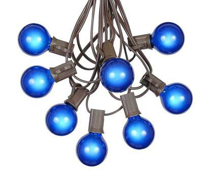 globe string lights brown wire Picture of, G40 Globe String Light, with Blue Bulbs on Brown Wire Globe String Lights Brown Wire Best Picture Of, G40 Globe String Light, With Blue Bulbs On Brown Wire Galleries
